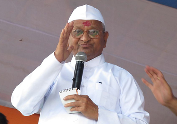 anna hazare to receive rs 25 lakh award for rural