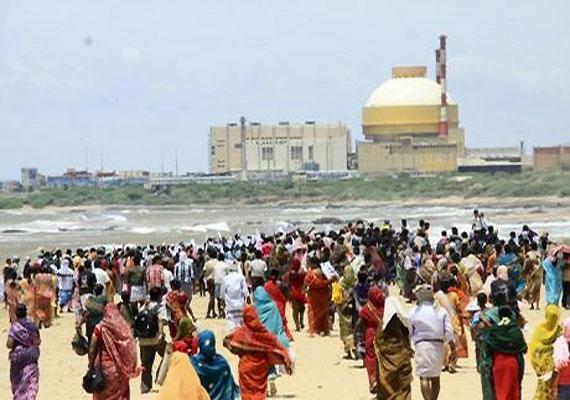 anti knpp protesters block sea approach to tuticorin port