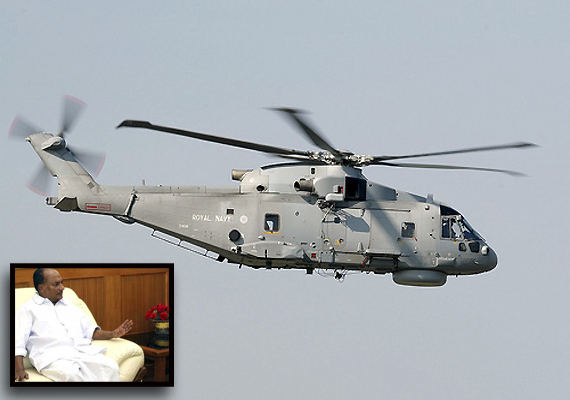 antony orders probe into vvip chopper deal