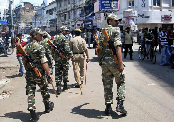 army stages flag marches in assam 1 killed in violence