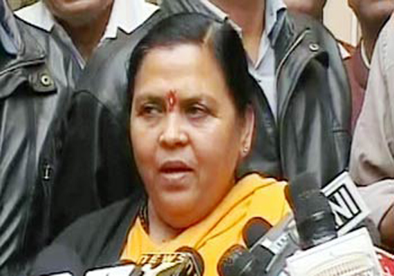 bjp will construct ram temple if voted to power says uma