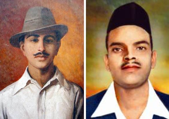bhagat singh a jat sikh rajguru a brahmin says congress