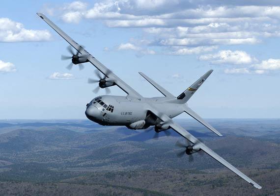 C 130j Hercules Makes Tricky Night Landing In Nepal India