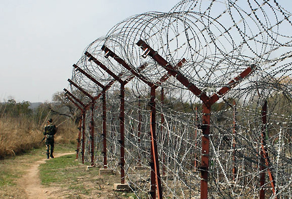 centre mulling new all weather fence along loc in kashmir