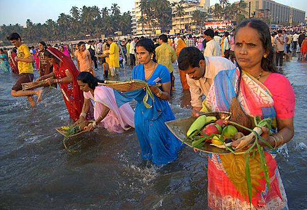 Chhath Festival Begins In Bihar   India News – India TV