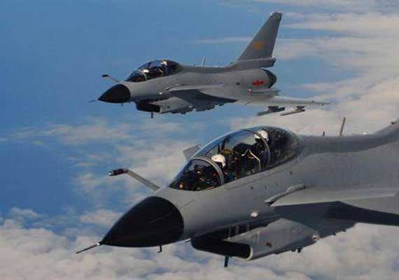 chinese air force holds night flying exercises in tibet