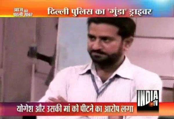 delhi dcp s driver accused of molestation