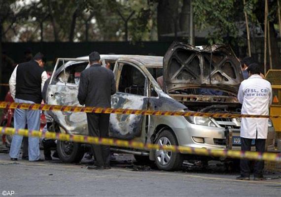 delhi police names 3 iranians in israeli embassy car blast
