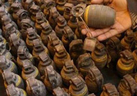 explosives seized arrests five persons