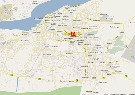 bomb blast in guwahati seven injured