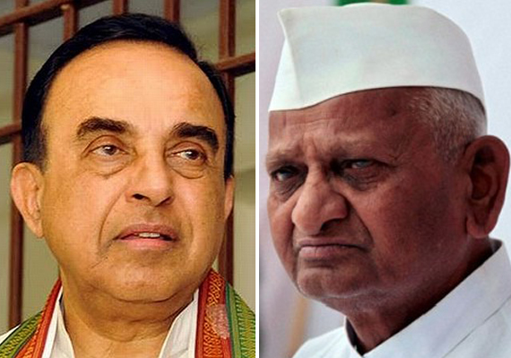 hazare minus team anna is welcome to work with me says swamy