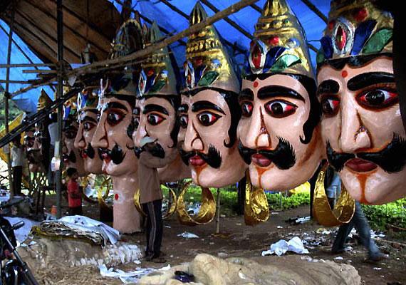 did demon king ravana really have ten heads