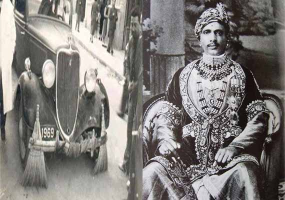 how an insulted maharaja in alwar used rolls royce cars for