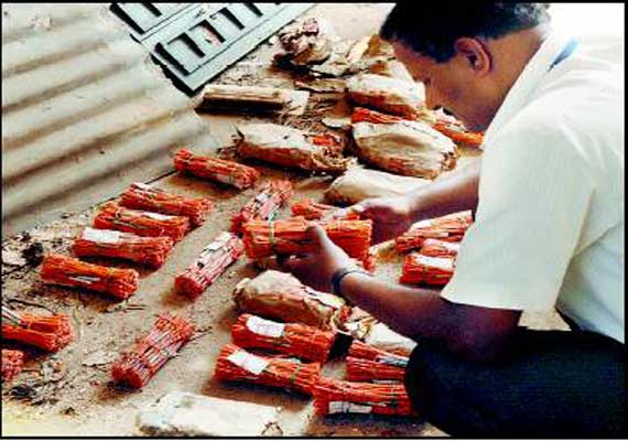 huge quantity of explosives recovered in birbhum