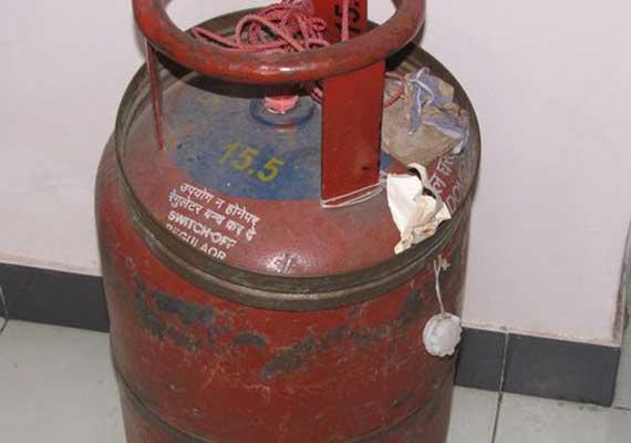 illegal lpg gas supplier s house catches fire infant dead