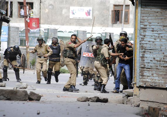incidents of arson in budgam extra forces rushed