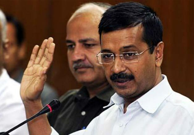 aap s first anniversary gift to delhi people pending water
