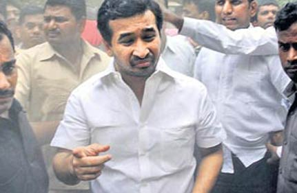 police give clean chit to narayan rane s son in criminal