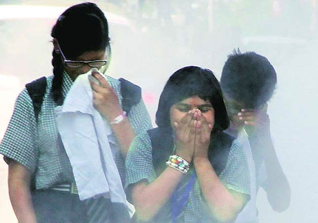 delhi most polluted city of the world who