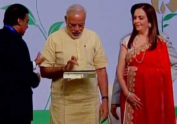 pm narendra modi inaugurates sir hn reliance foundation