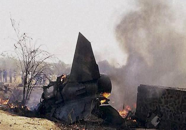 no civilian casualties in mig 27 crash in west bengal iaf