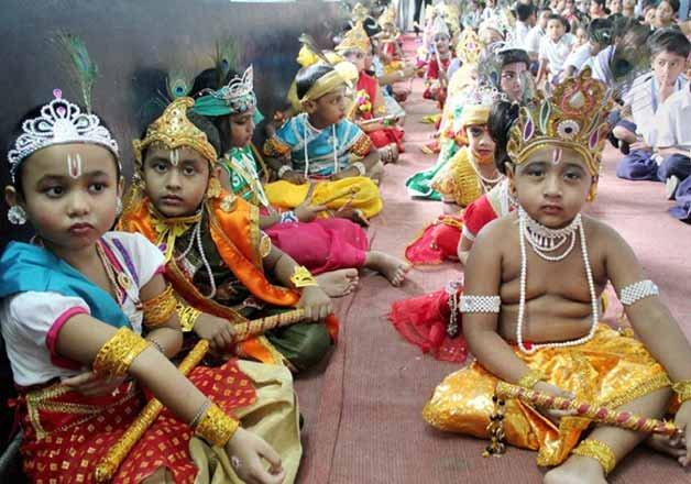 see pics country celebrates janmashtami with fervour