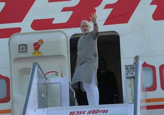 pm modi s flight delayed in myanmar over refuelling row ai