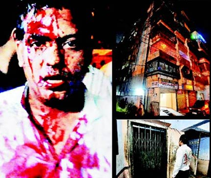 indian rage lift hogging leads to fisticuffs in ulhasnagar