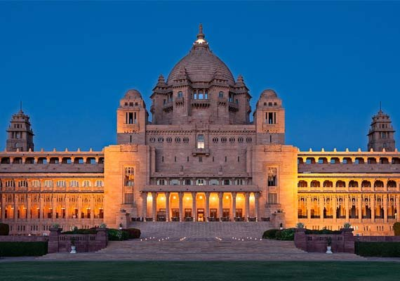 top 5 heritage hotels in india