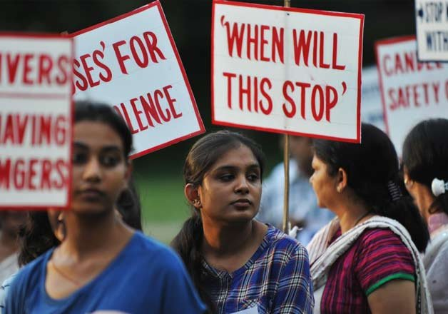 crimes against women reported every two minutes