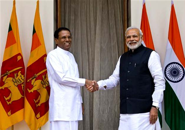 india sri lanka ink nuclear deal hope to push back chinese