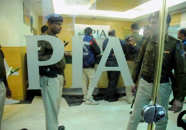 delhi right wing group attacks pia office