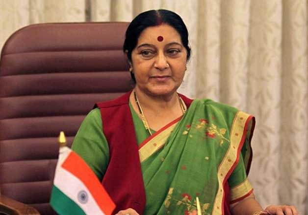 sushma swaraj calls on bhutan pm discusses security