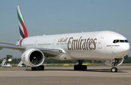 Emirates Flight Grounded In Mumbai