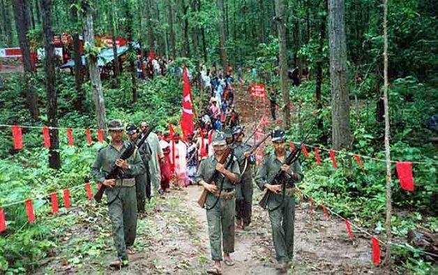 bihar sounds high alert as police seizes maoist arms