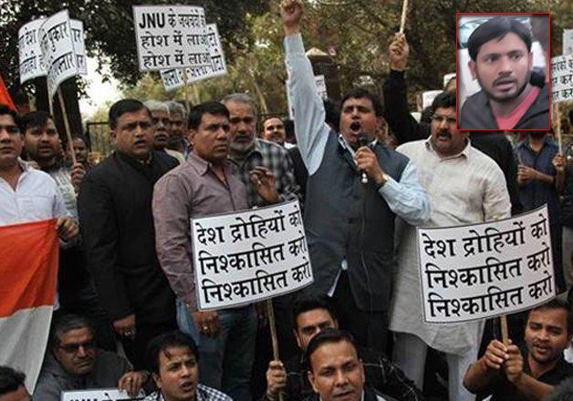 our son victim of hindutva politics say parents of jnusu