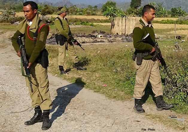 eight bodo militants nabbed in assam