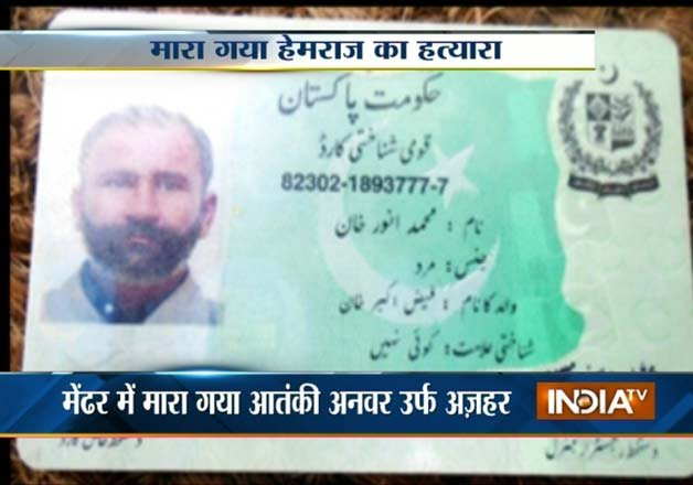 indian army kills pakistani terrorist who beheaded lance