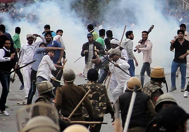 12 killed 150 injured in haryana violence police