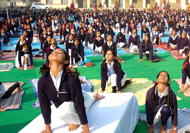 surya namaskar made mandatory in rajasthan schools