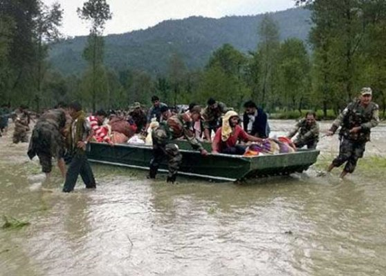 centre sends specialist doctors to flood hit j k
