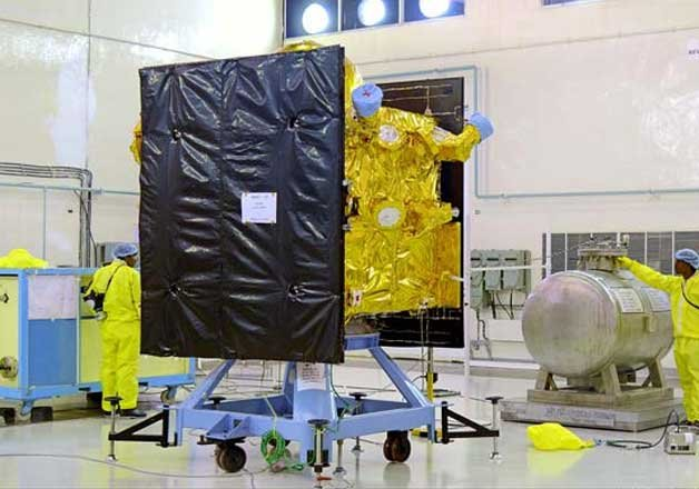 isro to launch fourth navigation satellite irnss 1d today