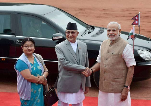 india nepal talk it out no misunderstandings now says oli