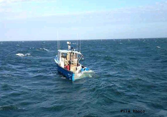 coast guard ships to rescue fishing boats from cyclone