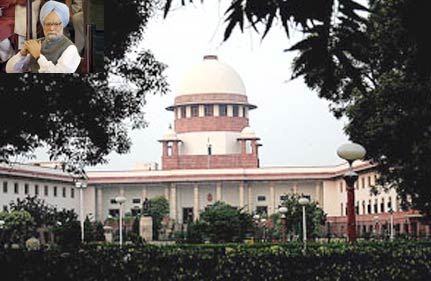 pm faces questions from sc in 2g scam