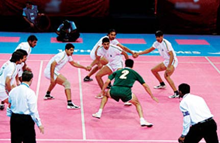 india win sixth asian games gold in men s kabaddi