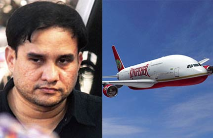kingfisher pilot held on charge of molesting 8 year old girl