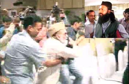 muslim scribe beaten up by shahi imam s supporters
