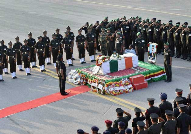 siachen martyrs bodies sent to their home states from delhi