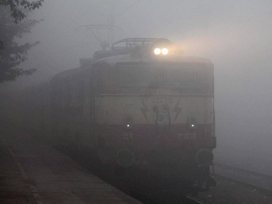 dense fog disrupts rail air traffic in lucknow